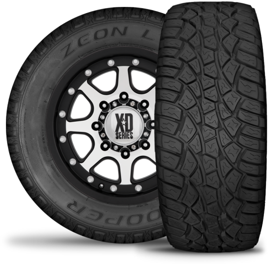 Distributor of Cooper Tires, Mickey Thompson and Dick Cepek